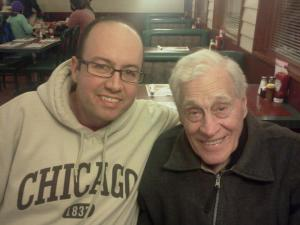 Clarence Foltz on his 95th Birthday