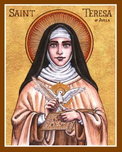 st__teresa_of_avila_icon_by_theophilia-d6qmnnn